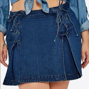 Denim 👖 Slay Mini Skirt